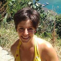 Ginger Rubinstein portrait at the beach